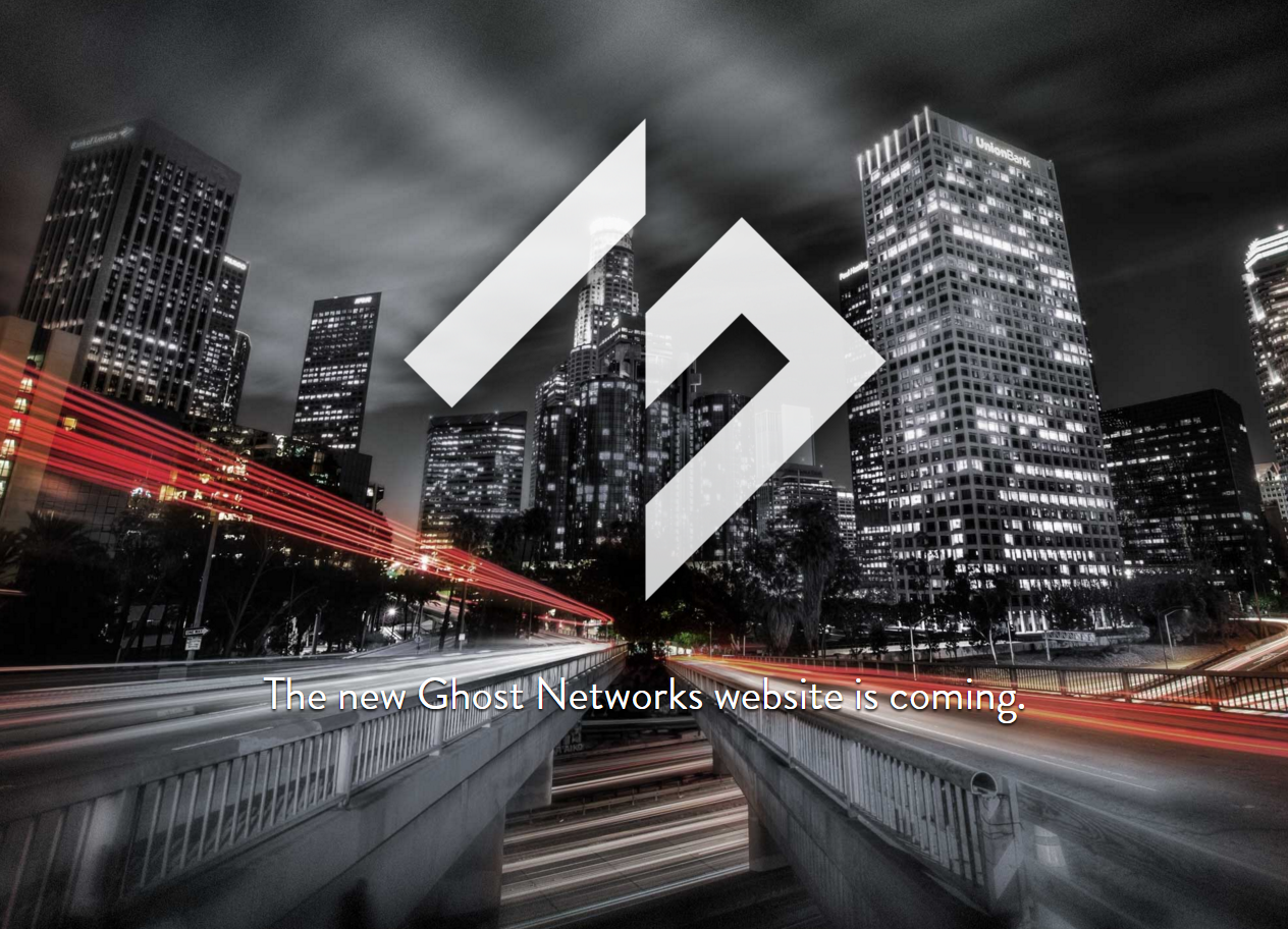 Ghost Networks